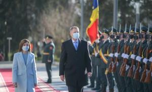 Iohannis la Chisinau